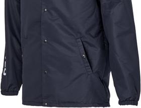 blue jacket pocket