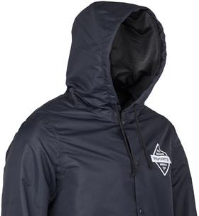 blue jacket hood