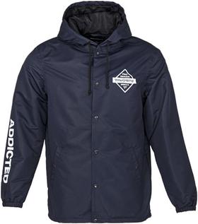 blue jacket front